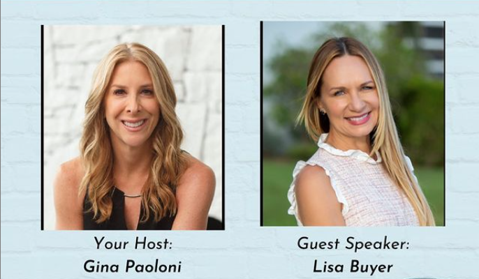 Gina Paolini and Lisa Buyer