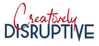 creatively disruptive logo