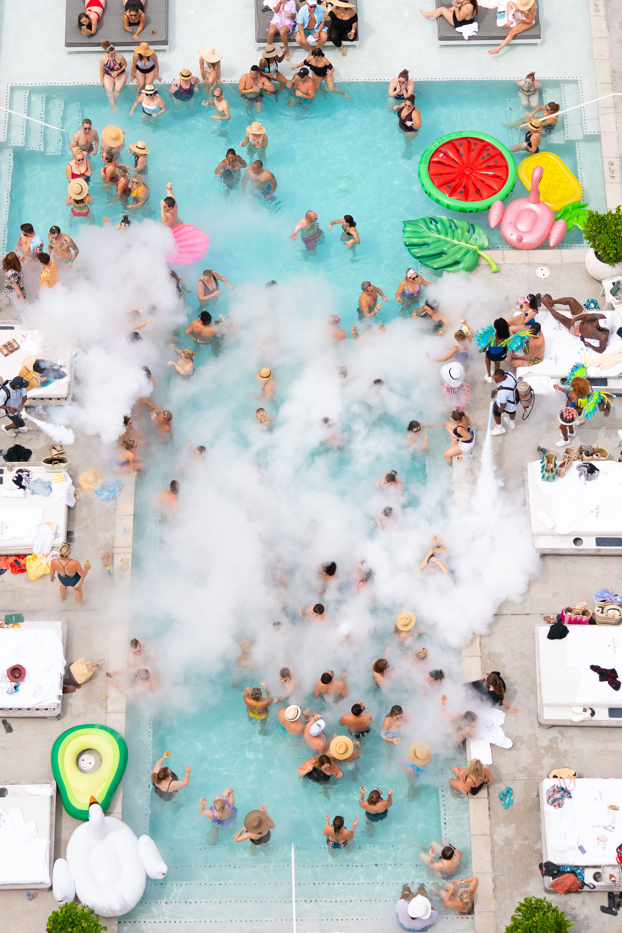 Engage! Event pool party
