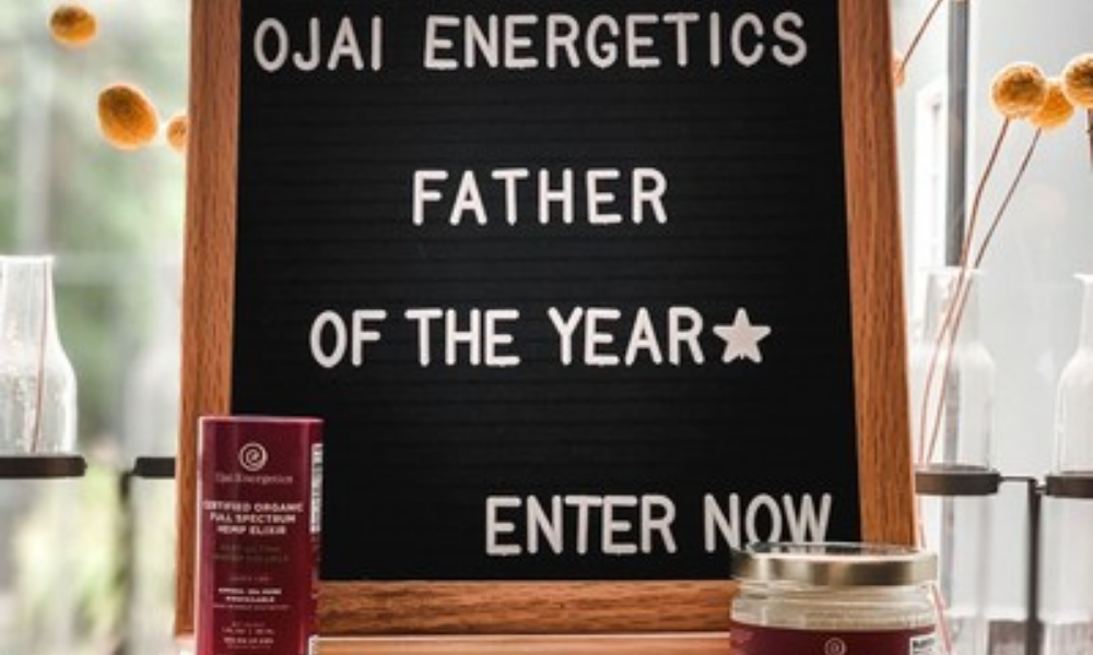 Special Projects - Ojai energetics father of the year giveaway