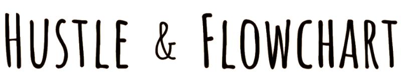 hustle and flowchart logo