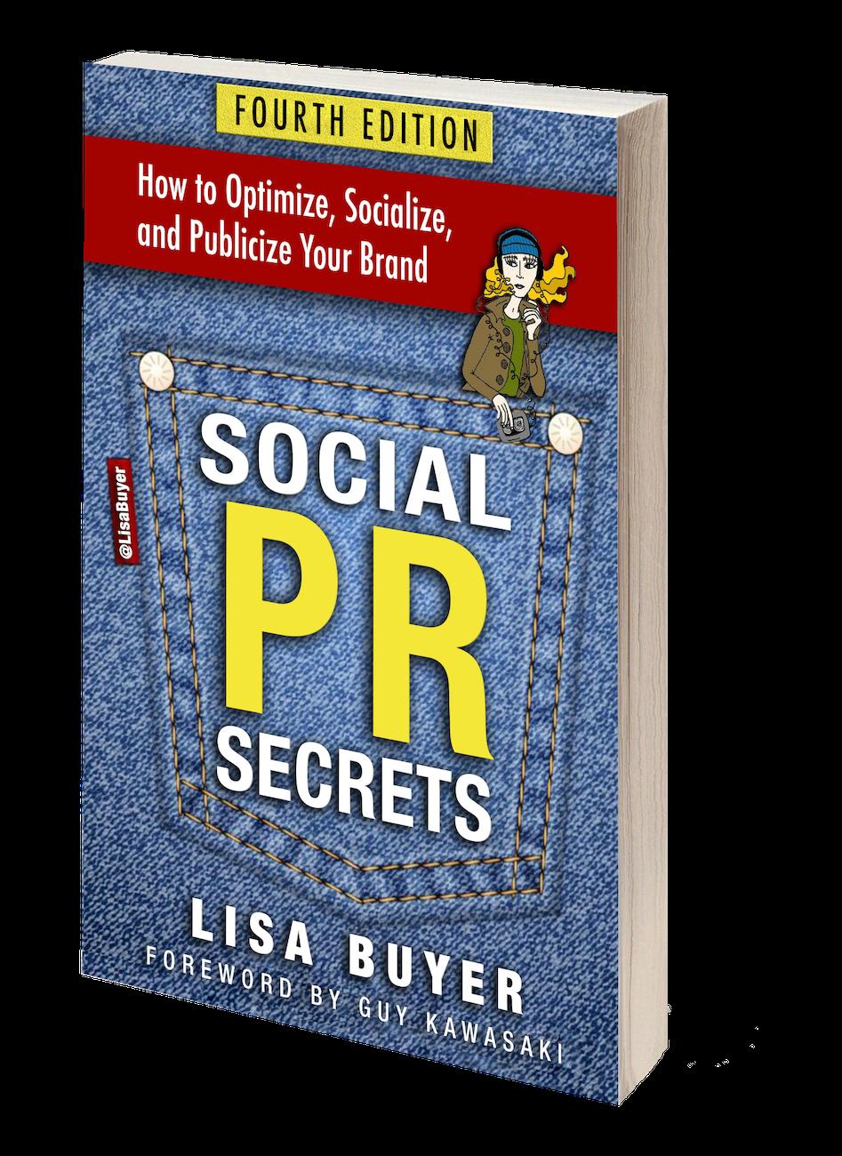 Social PR Secrets Book