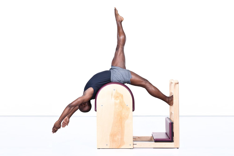 Askia Swift on the Ladder Barrel