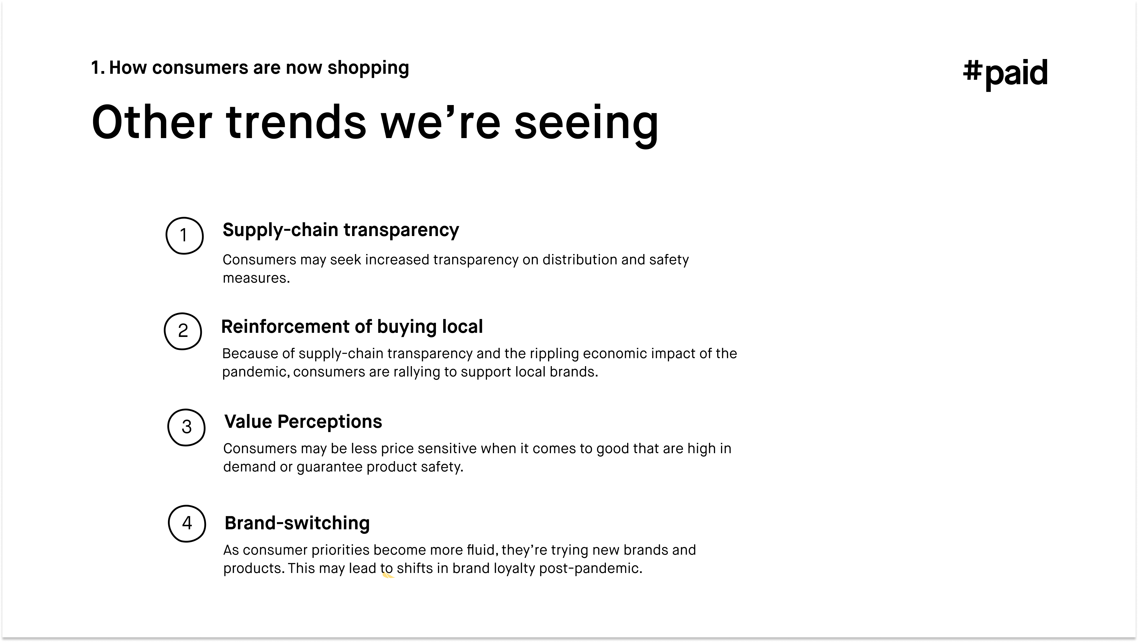 #paid_Other trends we're seeing