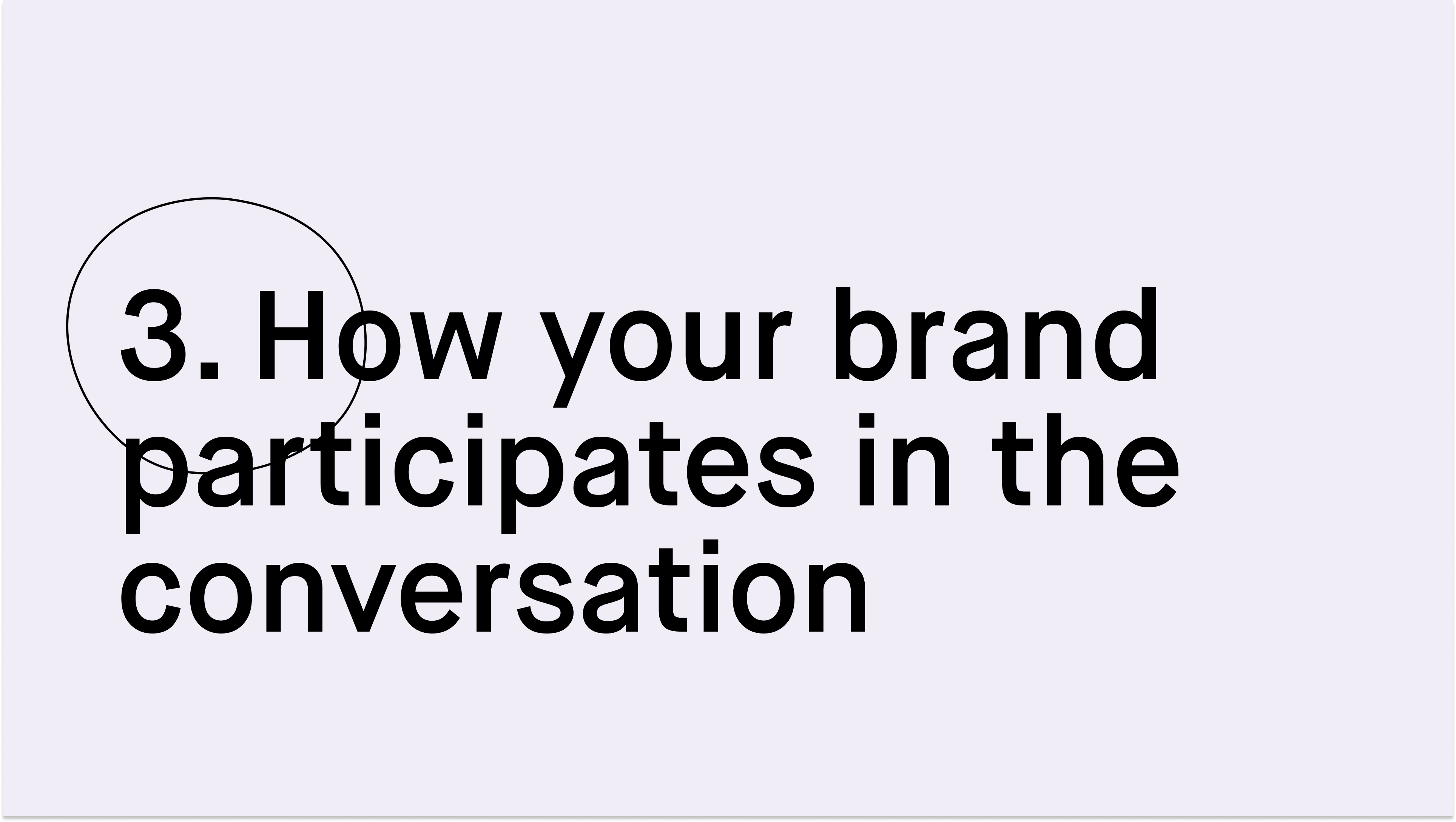#paid_How your brand participates in the conversation
