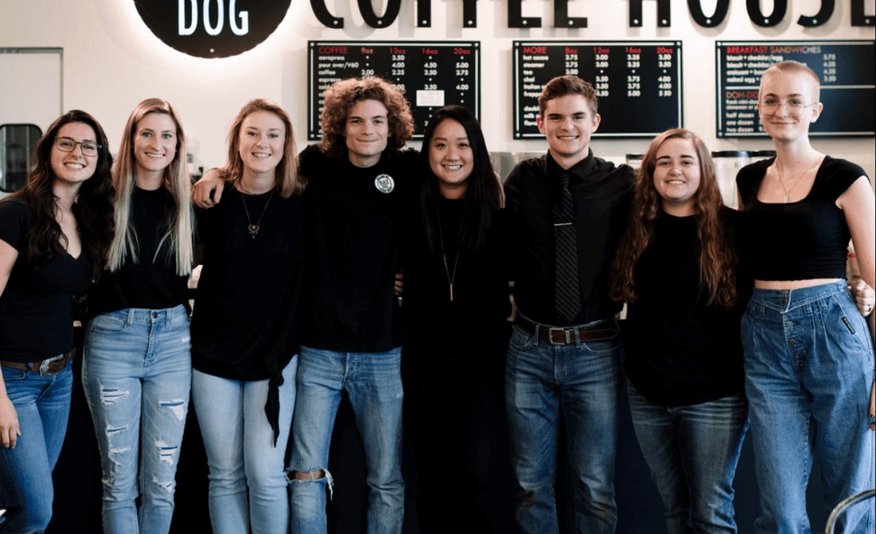 Black Dog Coffee team photo