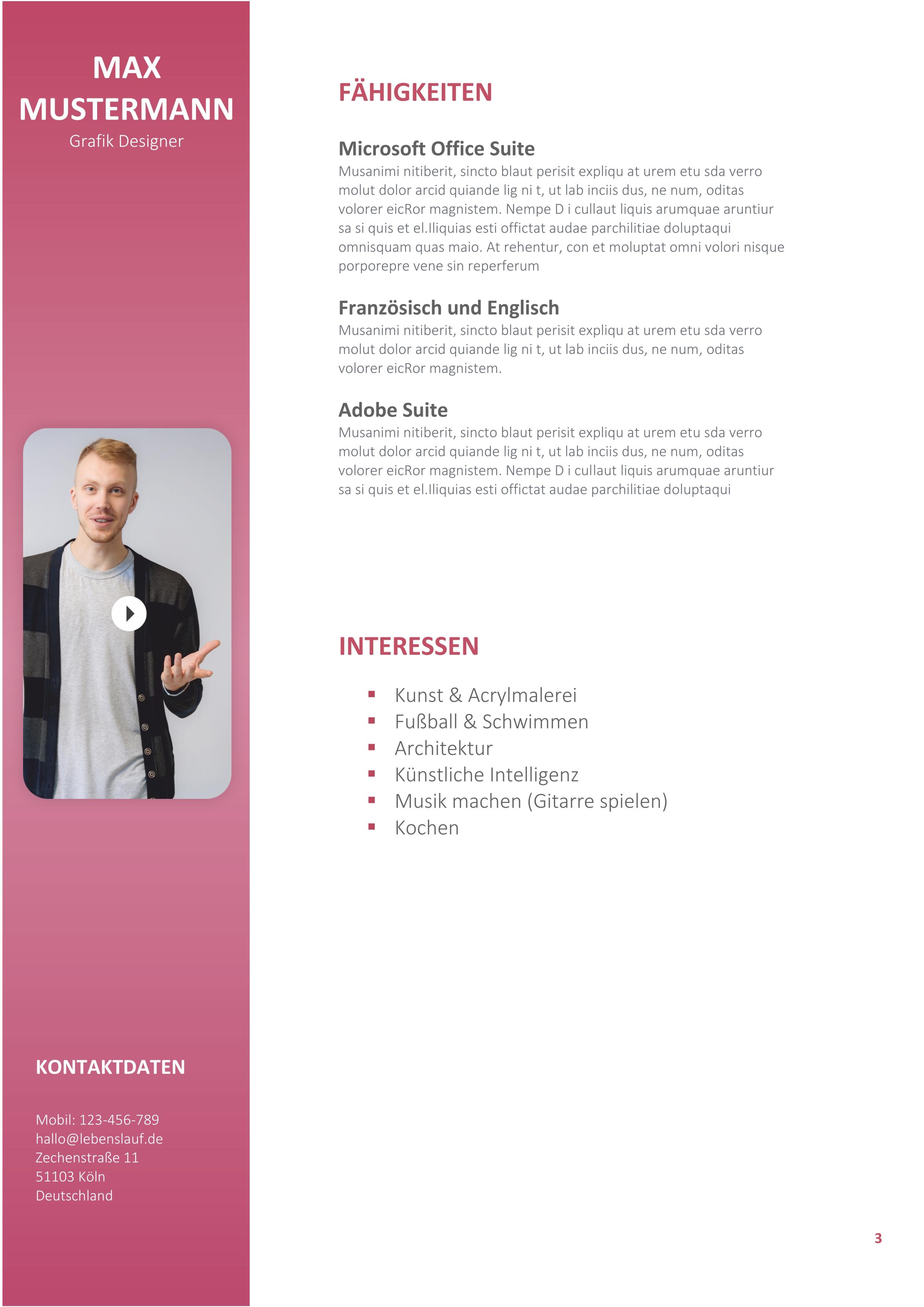 CV Example