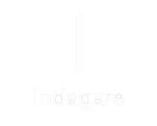 Indigare Logo in White