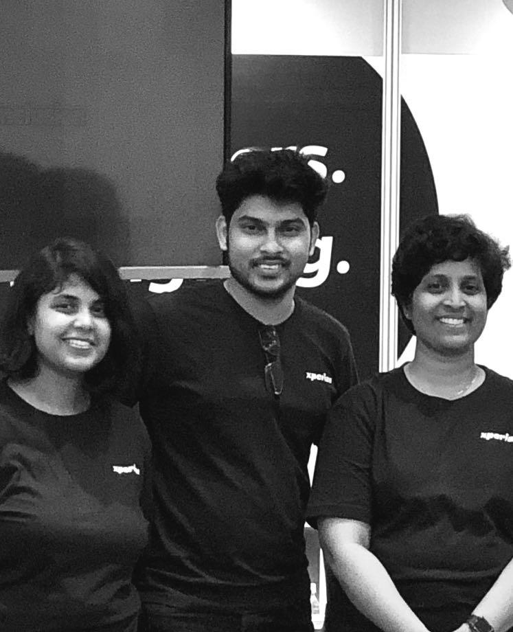 Photo of Team Nocoloco (Madhuri, Arjun, Karthi)