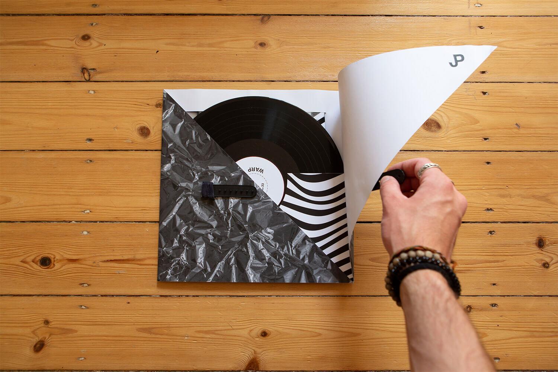 warp schallplatten titelbild projektseite
