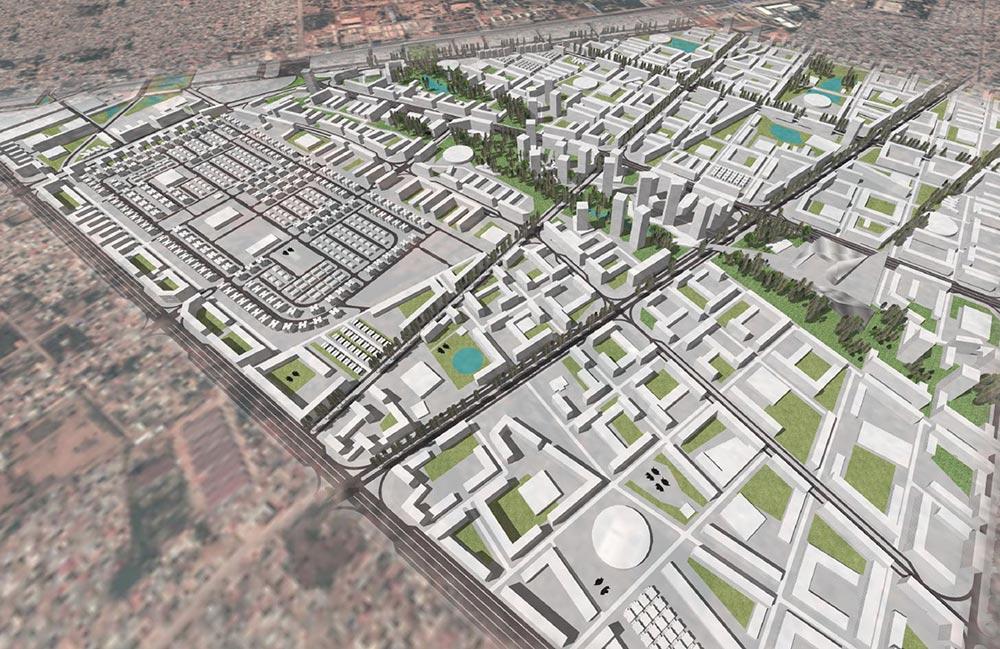 Infra-estruturas de Drenagem do plano de Cazenga Sudeste