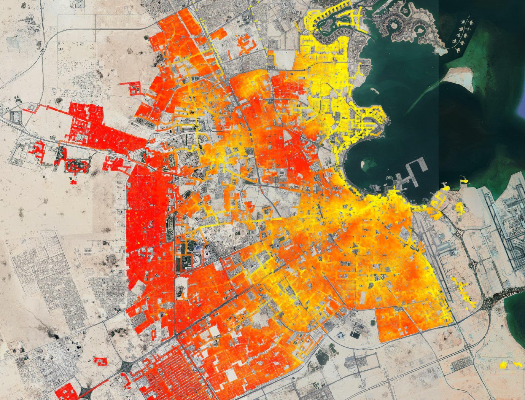 Gestão e Controlo de Odor no sistema de drenagem de águas residuais de Doha