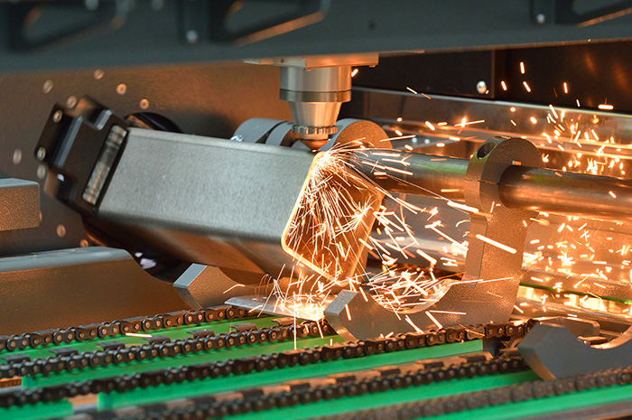 Rohr- und Profilbearbeitung durch Laserschneiden