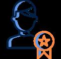 user productivity icon