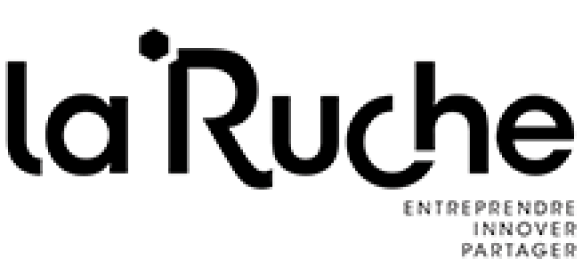 """The logo of """"La Ruche"""""""