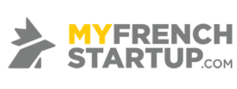 """The logo of """"My French Startup"""""""