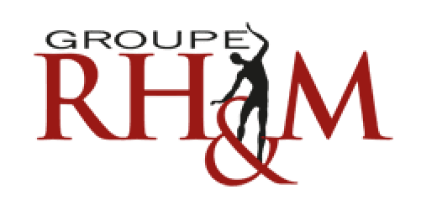 """The logo of """"Groupe RH&M"""""""