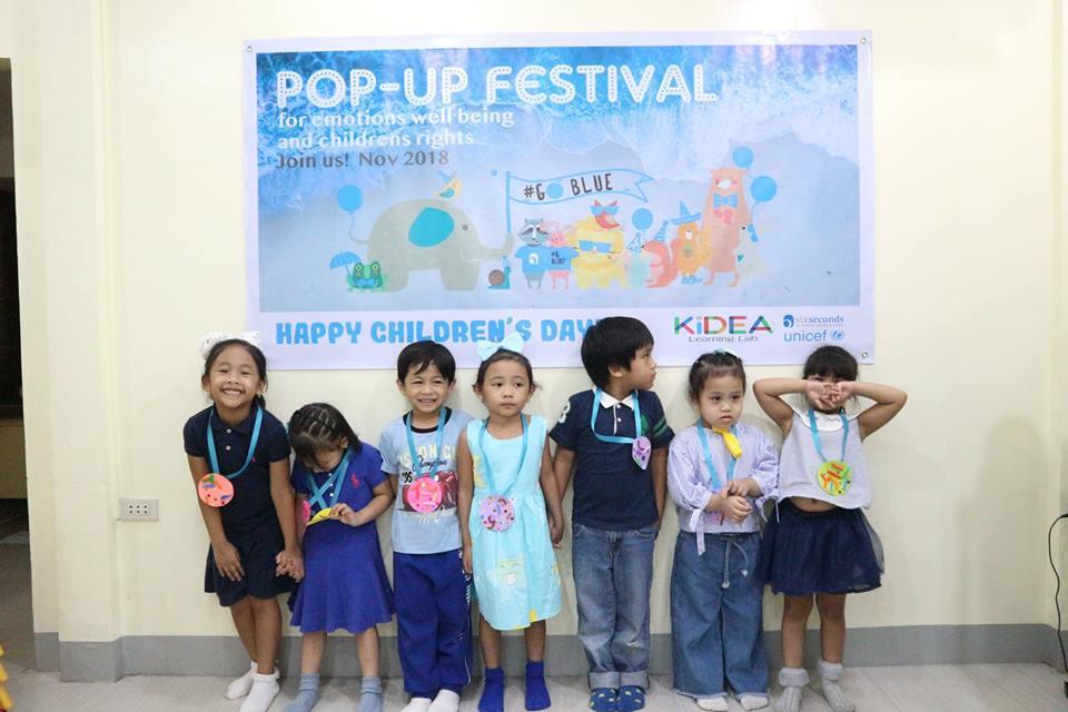 Children from UNICEF World Children's Day
