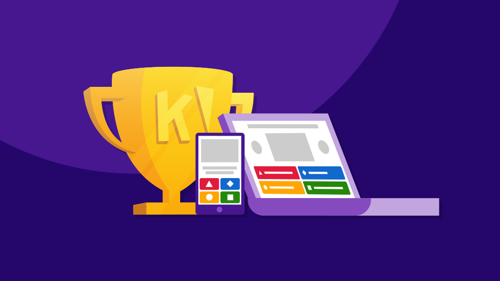 Kahoot! on mobile and laptop
