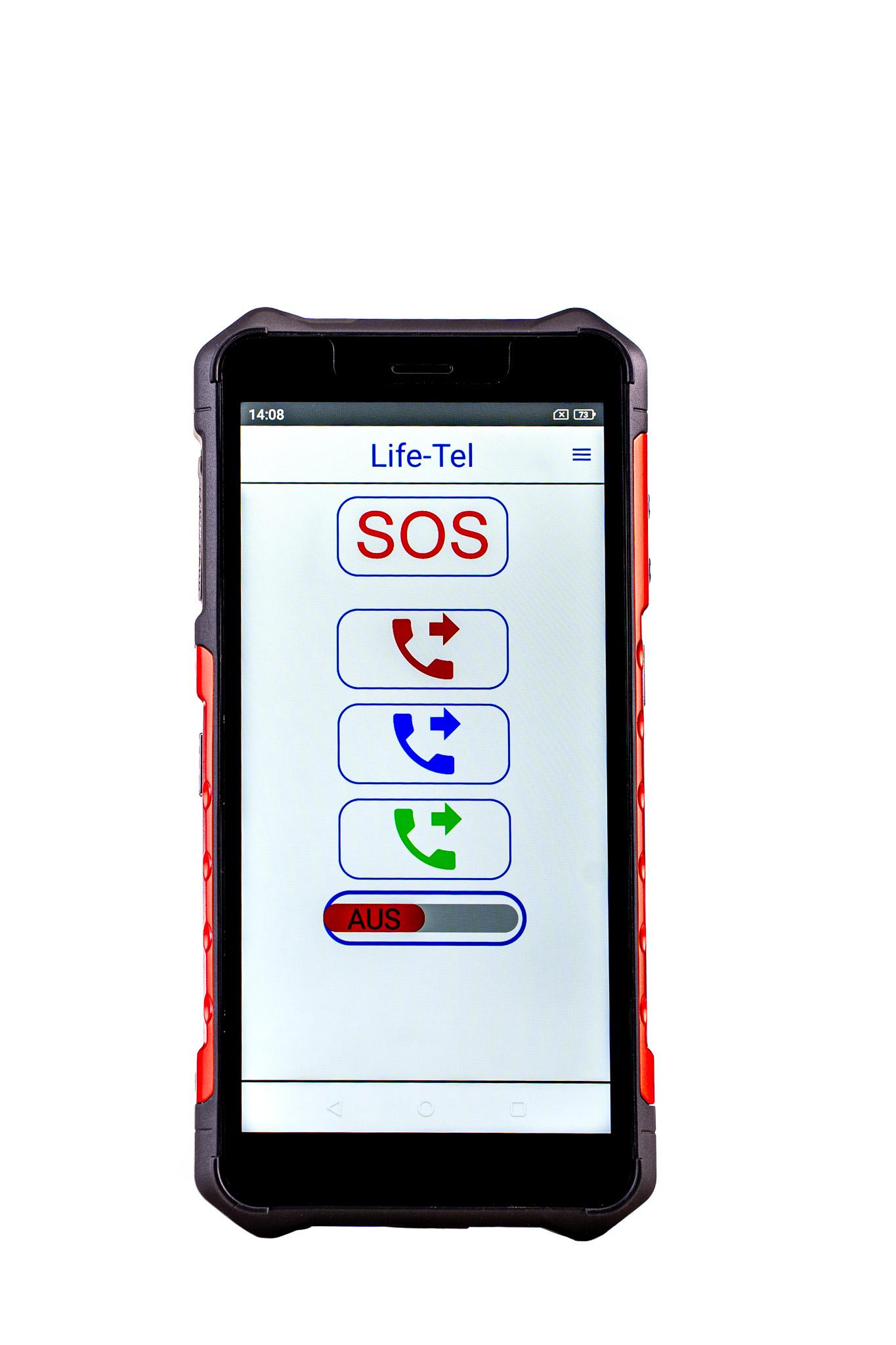 Personen Notsignal Anlage Alleinarbeiter App