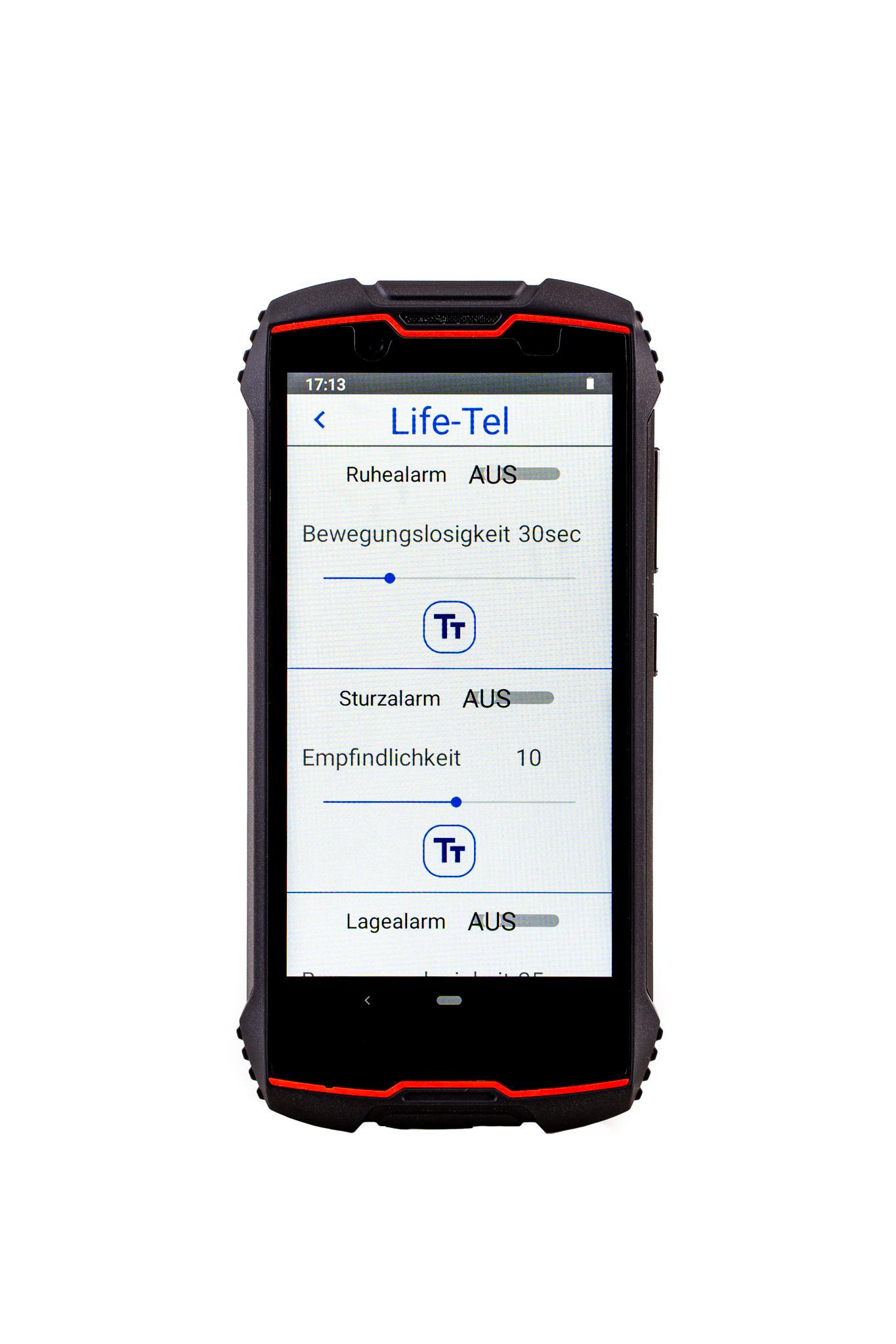 Life Tel 5 Mini mit Totmannschaltung