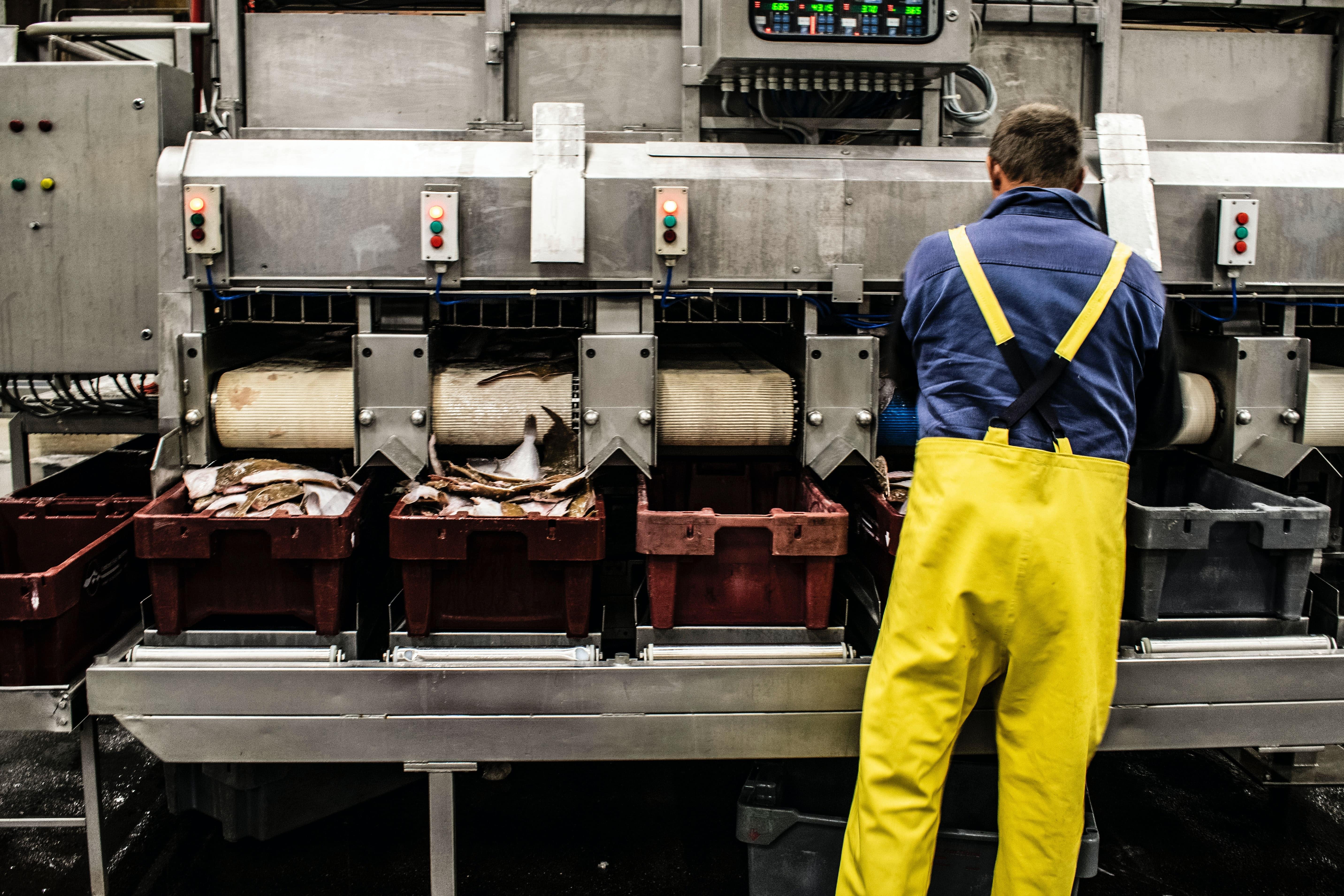 Alleinarbeit Industrie