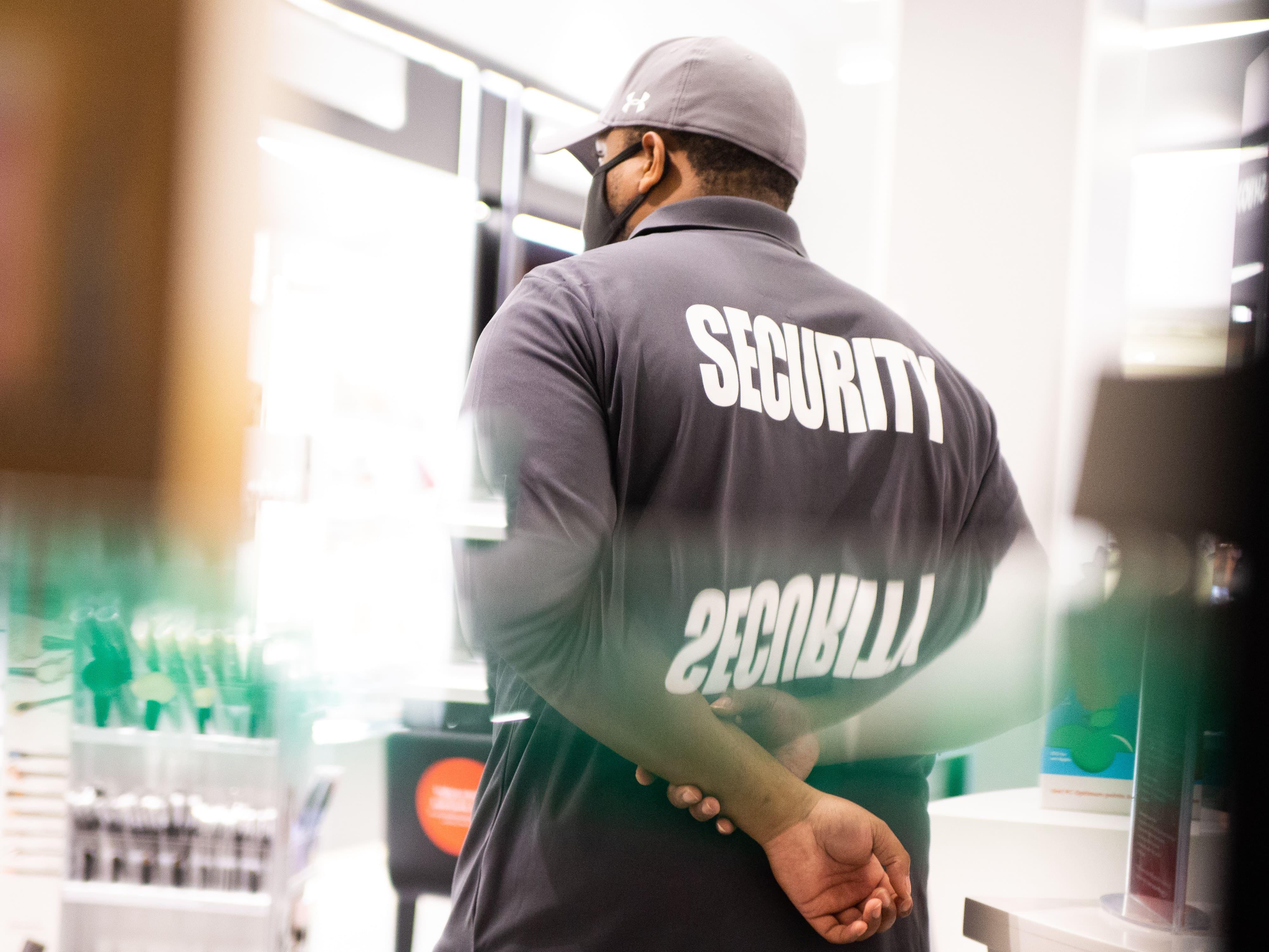 Alleinarbeit Sicherheitsdienst