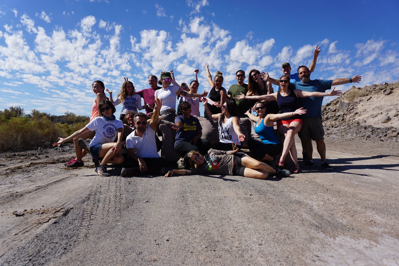 Salton Sea Photo Safari Art Adventure & Ladder Cyn, Mud Volcanoes, Salvation Mtn