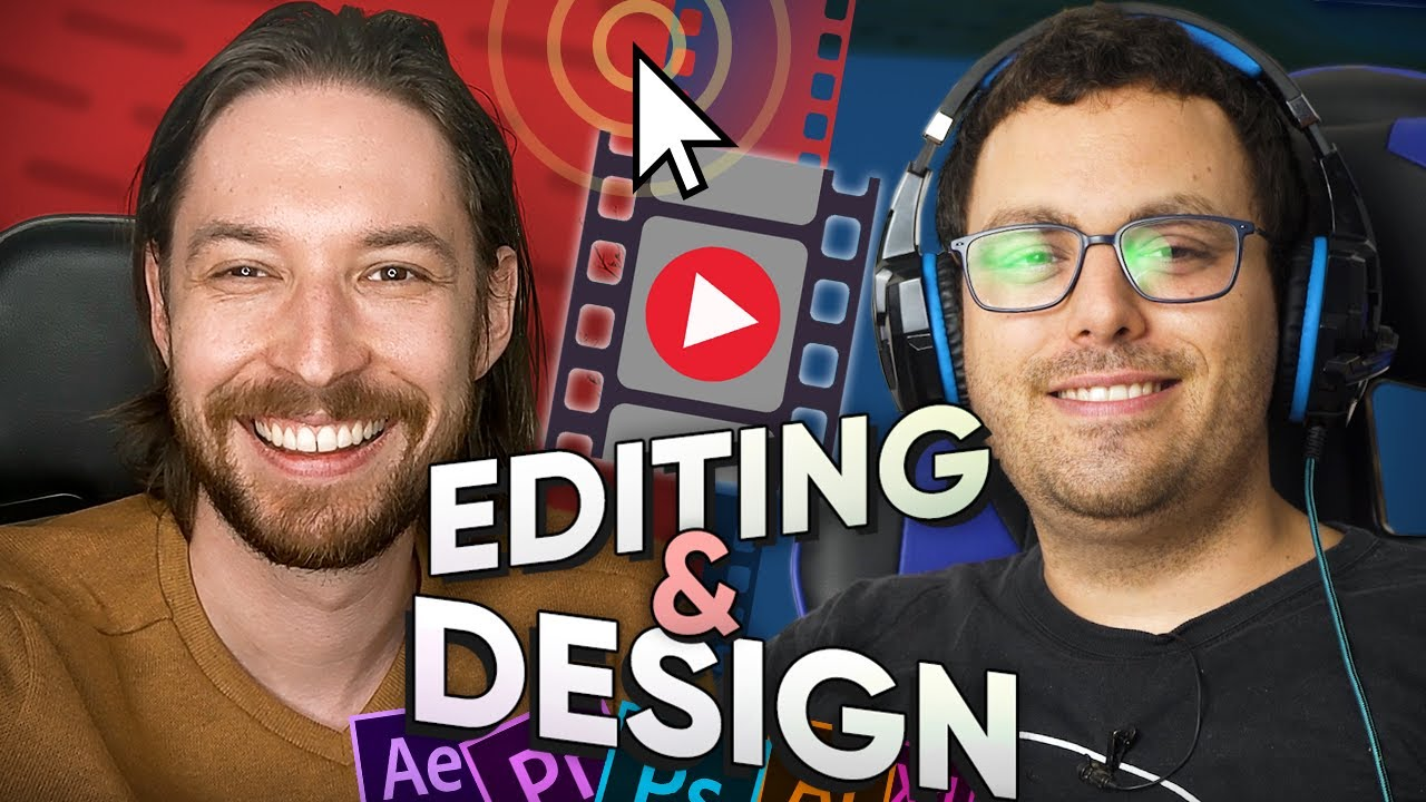 The Magic of Editing -  The Top 10 Graphic Design Tips for your YouTube Channel