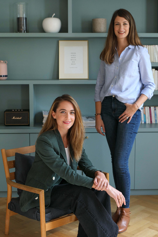 Camille & Laetitia, Co-fondatrices de la startup Cokpit