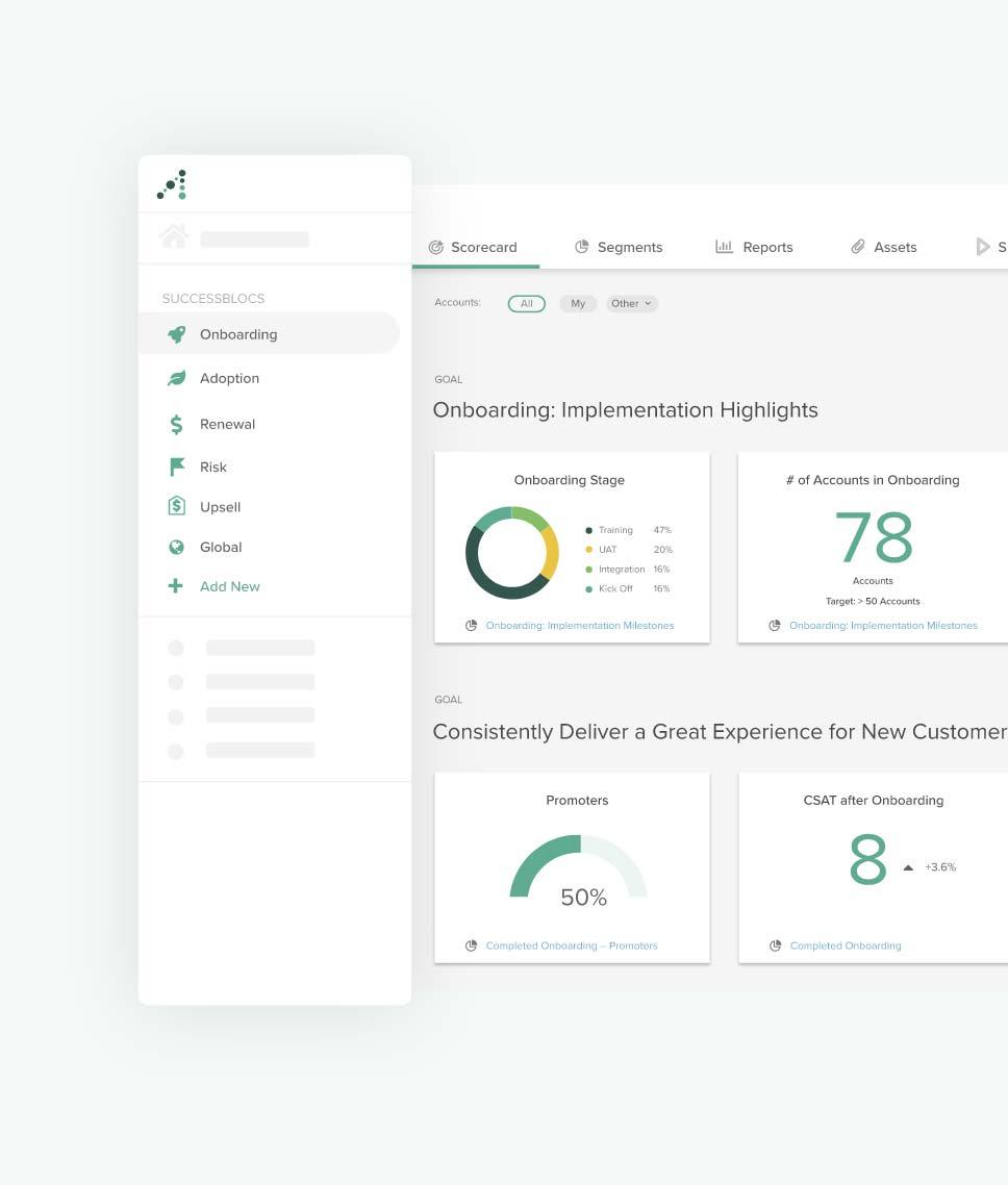 Helping recurring revenue businesses simplify customer success.