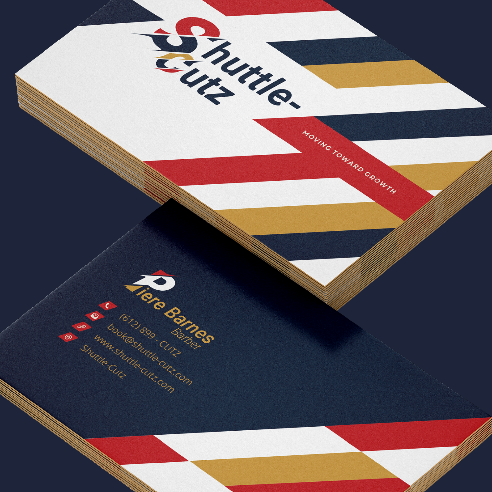 Shuttle-Cutz Business Card Mock Up