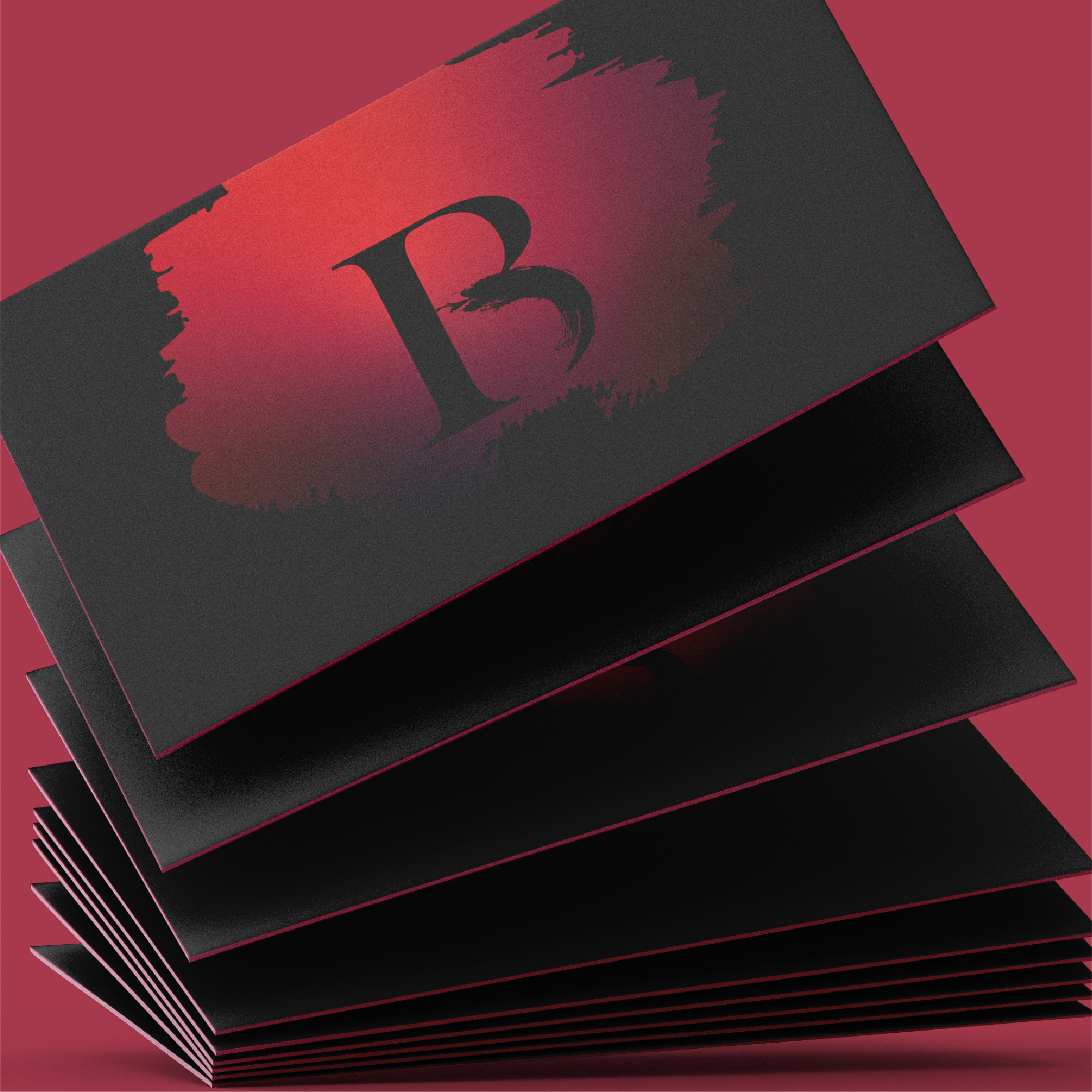Brittney Ross Business Card Mock Up