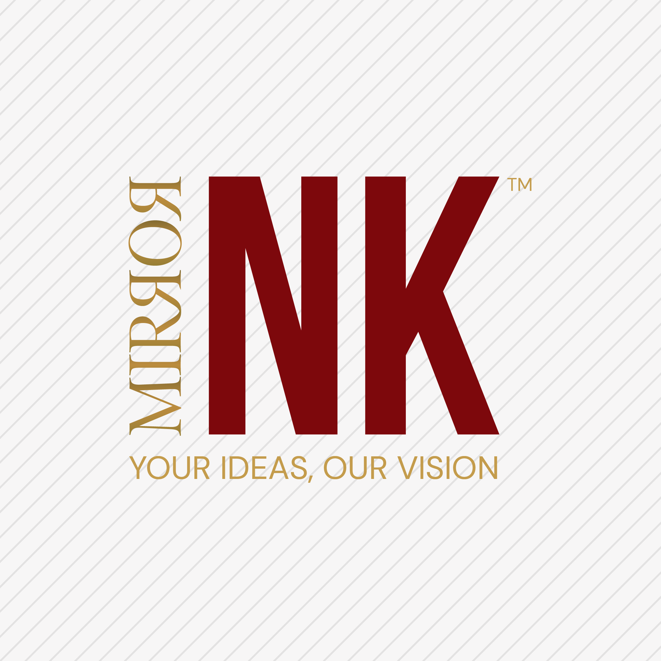 Logo created for Mirror Ink Productions by VZNCY