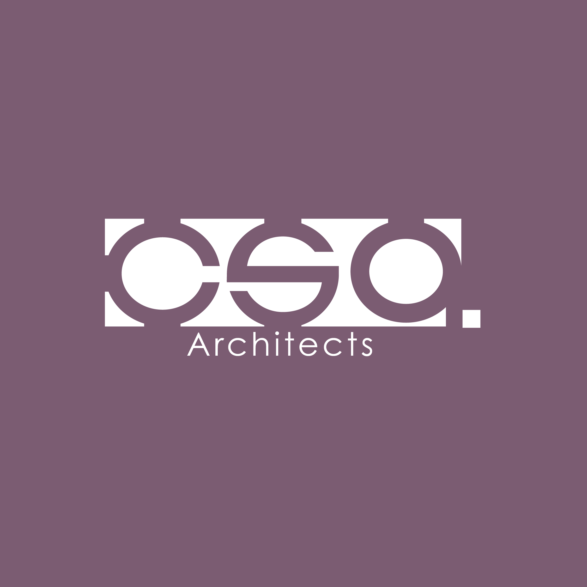 Logo created for CSA Architects by VZNCY