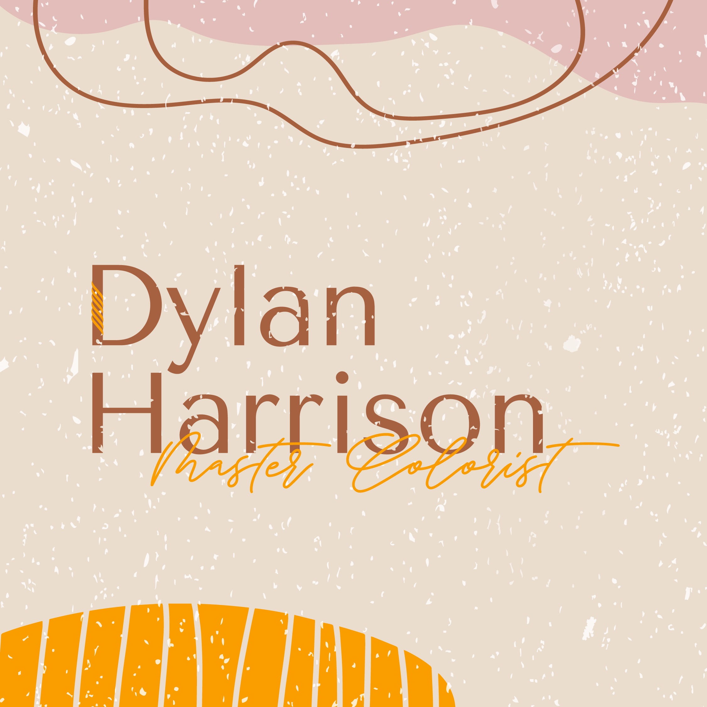 Logo created for Dylan Harrison by VZNCY