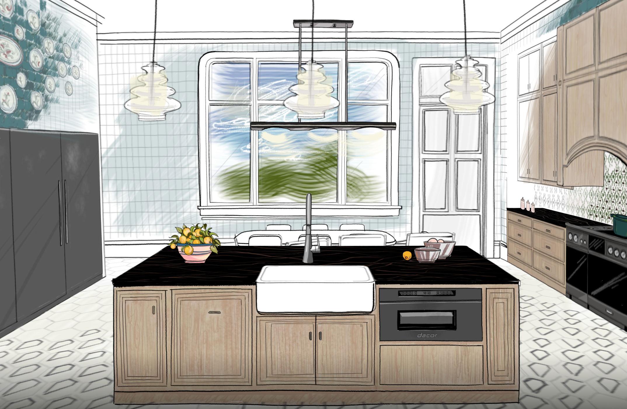 House Beautiful Virtual Kitchen