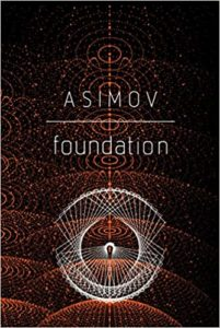 Cover of Foundation by Asimov, one of the best books for startups