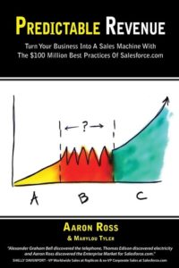 Cover of Predictable Revenue by Aaron Ross, one of the best books for startups