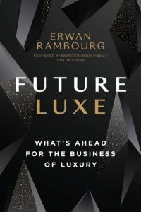 Cover of Future Luxe by Eran Rambourg, one of the best books for startups