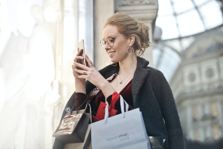 Gen Z on smartphone