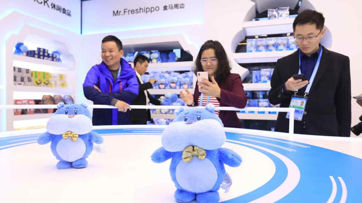 new retail china