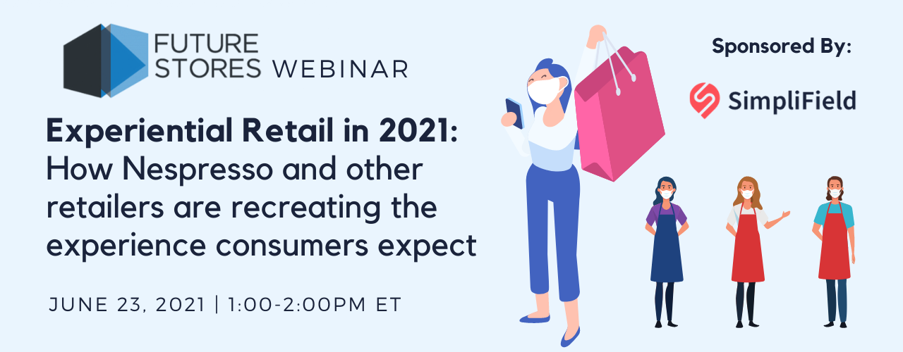 experiential retail webinar with nespresso and simplifield