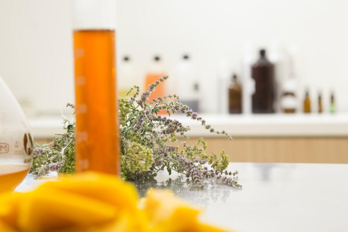 Lavender and cosmetics