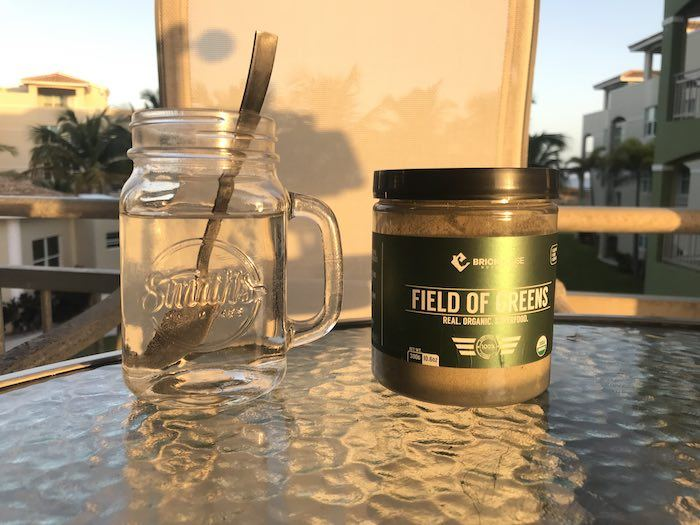 How to use Field of Greens Shake Powder