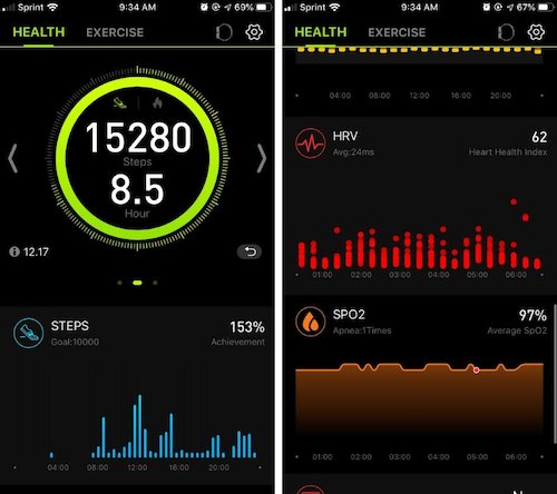 MorePro App Dashboard screen on iPhone