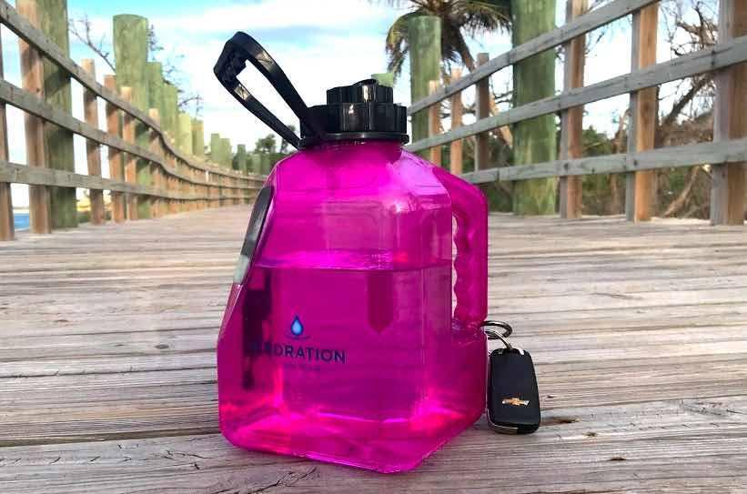 hydration junkie water jug