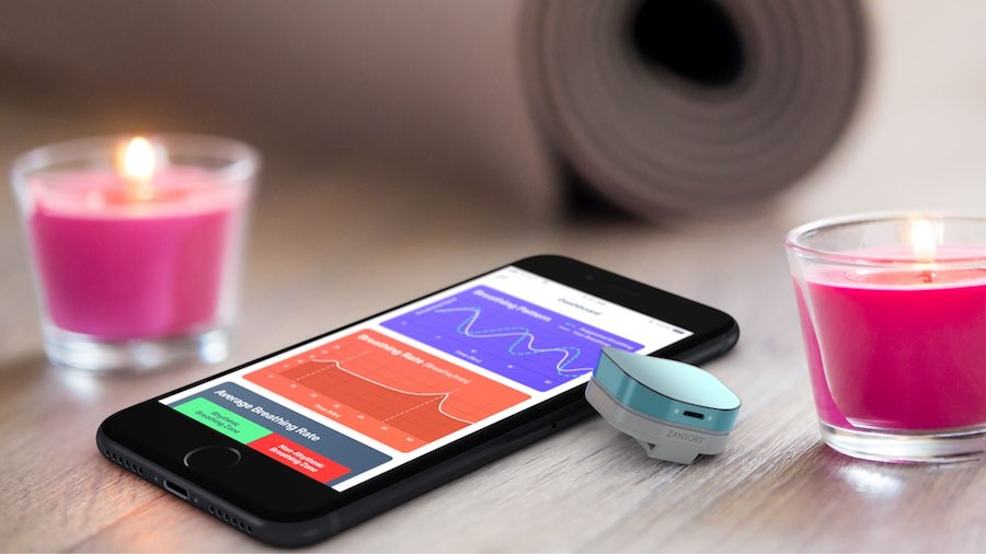 RESPA Yoga Sensor and App