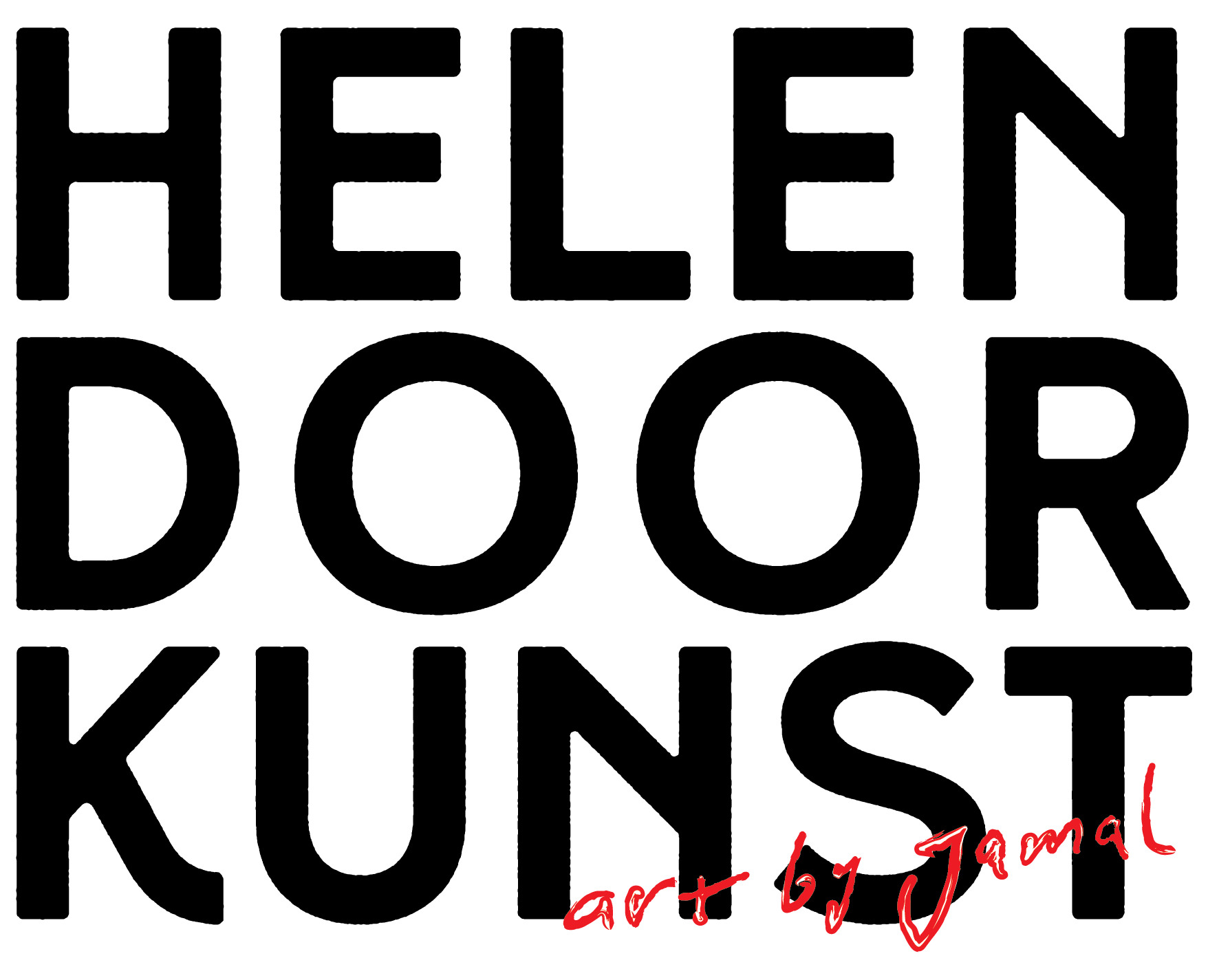 Helen door kunst. Een expositie van Jamal Khamis.
