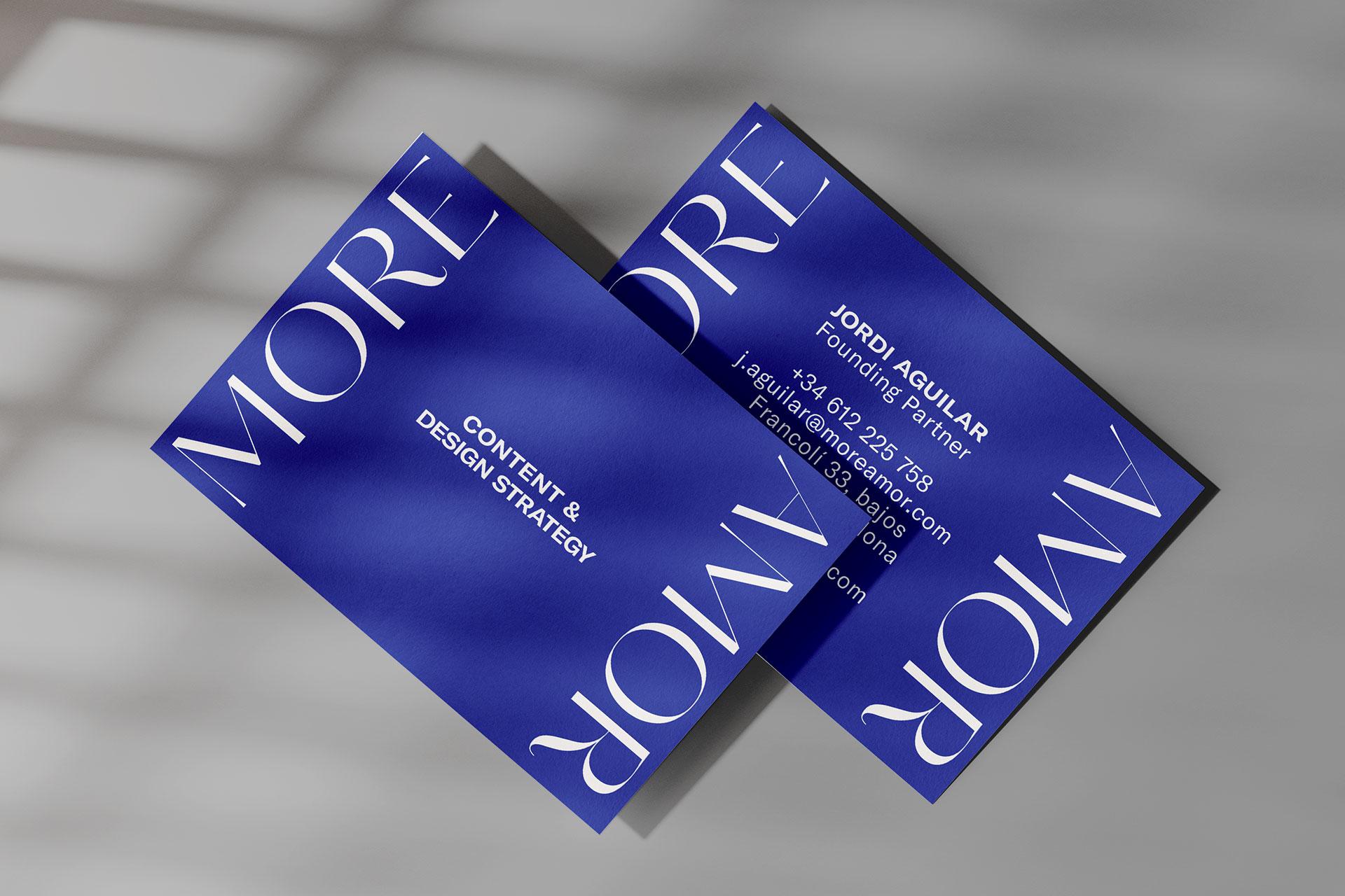 MoreAmor branding identity